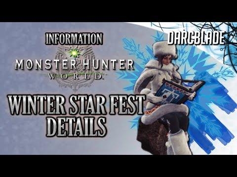 WINTER STAR FEST Details : Monster Hunter World