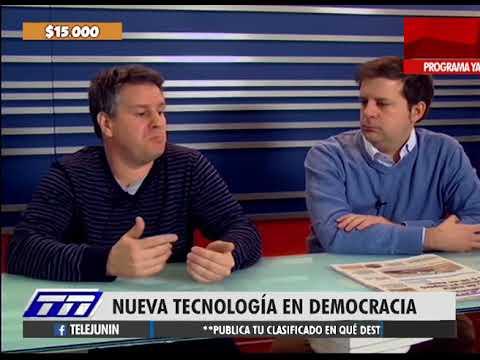 Nueva tecnología en Democracia