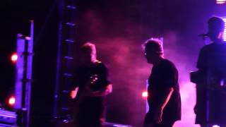 Smart Patrol/Mr. DNA - DEVO live at Hollywood Park 5-11-12