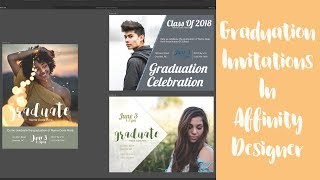 3 Ways To Design A Graduation Invitation In Affinity Designer