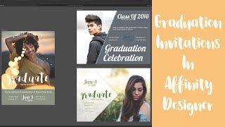 3 Ways To Design A Graduation Invitation In Affinity Designer
