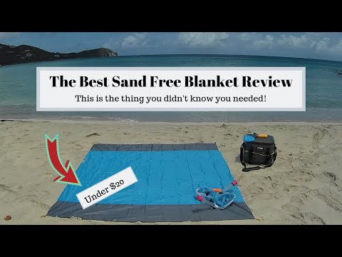 The Best Beach Blanket - Review of Sand Free Blanket