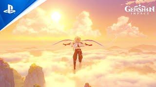 PlayStation Genshin Impact - Gameplay Footage   PS5 anuncio