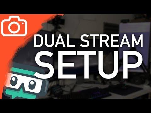 Jak streamuji přes dva počítače? - DUAL STREAM SETUP