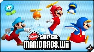 Reirse Tanto No Es Sano!   New Super Mario Bros Wii Con @Naishys
