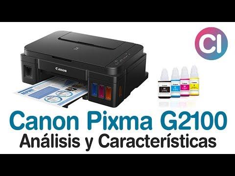 Impresora Multifuncional Canon Pixma G2100 (Análisis y Características)