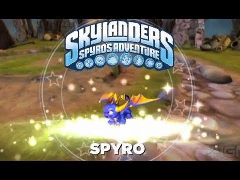 Skylanders Spyro's Adventure: Spyro Trailer