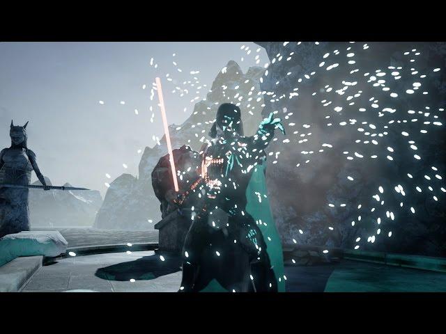 Darth Vader Rendered Using Unreal Engine 4 in Infinity Blade
