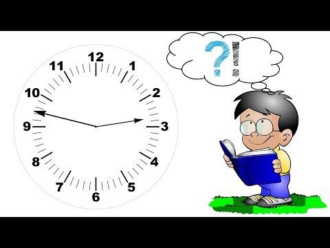 Uhr kindgerecht lesen lernen – Anleitung Uhrzeit ablesen Zeit Stunden Minuten - Tutorial für Kinder