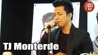 TJ Monterde performing Dessert (Dawin) and Love Yourself (Justin Bieber) Acoustic Medley