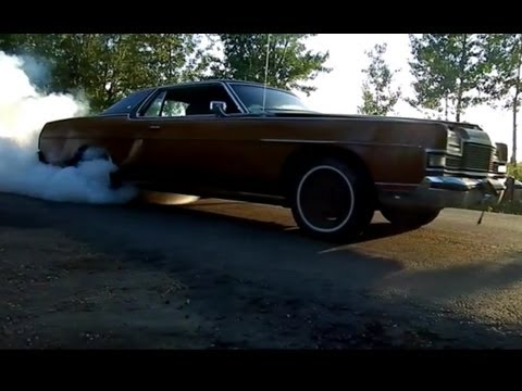 Uncle Buck Gettin' Mad And Wreckin' The Tires... The Best Grand Marquis Burnouts!