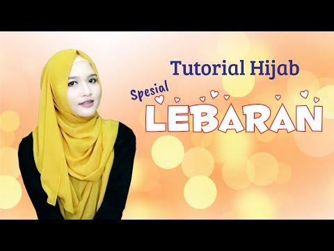Video Tutorial Hijab Pashmina Sifon Simple Untuk Lebaran 2017 | Menutup Dada | Amalia Kurnia