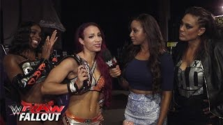 Team B.A.D. Spells It Out For The Diva's Division: Raw Fallout, Aug. 17, 2015