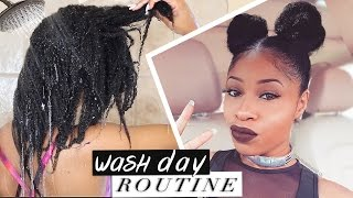 "<center><p>Natural Hair Wash Day Routine</p></center>"" />             </div>   </div>   <div class="