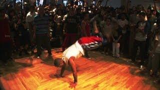 """Last dance battle for """"Crazy Legs"""""""