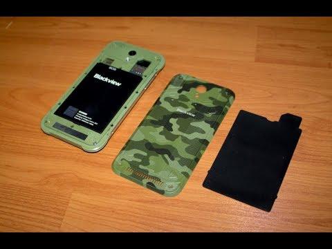 Мегакрепкий бронированный телефон Blackview BV5000 с AliExpress