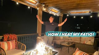 Best Way to heat a patio| Whats better gas or electric heaters?