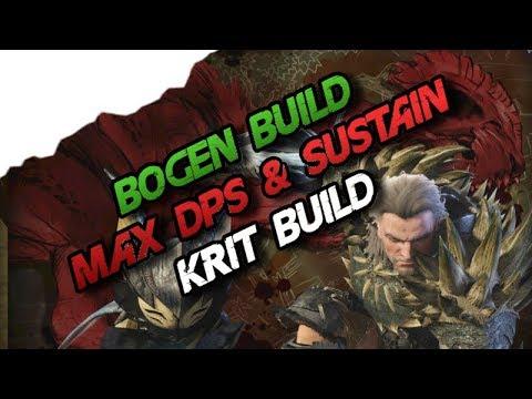 Monster Hunter World - Krit Bogen Build, Max DPS & Sustain (Deutsch/German) - MHW