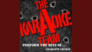Even God Can't Change the Past (Originally Performed by Charlotte Church) (Karaoke Version)