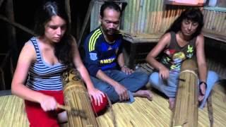Sarawak Music - Playing Kolitong