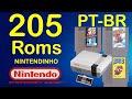 Pack 205 Roms Nintendo Nes 8 Bits Pt br nintendinho