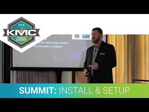 2018 KMC Genius Summit: KMC Commander Installation and Setup