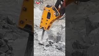 Búa đập đá thủy lực BE-140S - công ty Eon