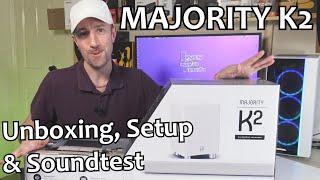 Majority K2 - Soundbar with Bluetooth AND a WIRELESS Subwoofer! (UK 2021)