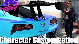 Need For Speed Heat: Corvette Grand Sport FULL BUILD + CHARACTER CUSTOMIZATION GAMEPLAY!
