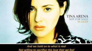 Tina Arena - Not For Sale (Piano and lyrics).wmv