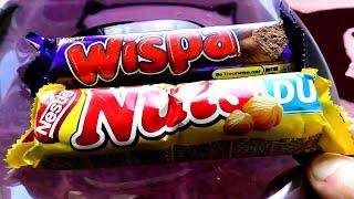 Я нашёл шоколад 90х! Батончик Nuts и Батончик Wispa как в 90е Эврика! Нашел Батончик Nuts и Батончик Wispa. Но когда купил  Nuts он потерял ценную уникальность, ибо появился практически в  каждом *комке)  А вот Батончик Wispa все же
