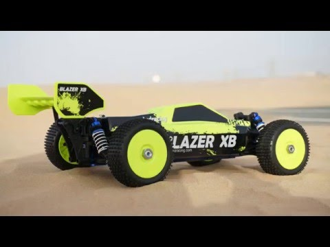 Blazer XB RC Electric 4WD Off Road Buggy Indoor Review