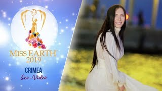 Anastasia Lebediuk Miss Earth Crimea 2019 Eco Video