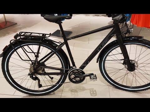 Cube Travel EXC black´n´grey Touring Bike Modell 2017