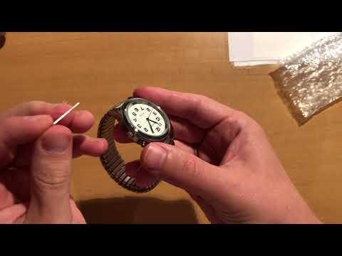 TalkJoy Analoge Sprechende Armbanduhr Einstellung der Uhrzeit und Uhrzeitansage