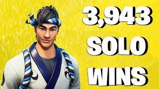 3,943 Solo Wins - Fortnite Battle Royale Live Stream