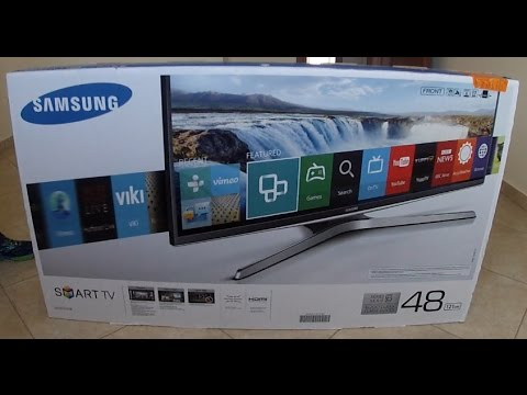 GoPro: Unboxing Samsung UE48J6200 Smart TV