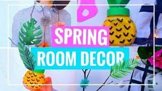 Diy spring room decor //весенний декор комнаты //milena cay