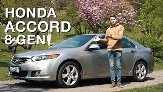 Dízel Helyett Ehhez Mit Szólsz? - Honda Accord 2.0 Teszt