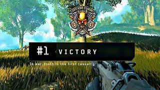 Call of Duty Black Ops 4 - BLACKOUT Solo Victory #1 (Full Match)