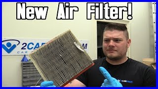 Air Filter Replacement Dodge Caravan 3.3L V6
