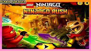 Моё Кунг-Фу лучше твоего! игра Ninjago Rush  Ниндзяго Спасиние