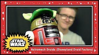 Sithlord229: Astromech Droids - Disney Paris Droid Factory