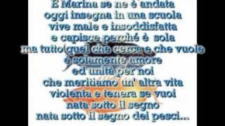 Antonello Venditti - Sotto il segno dei pesci con testo