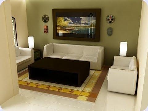 Inspirasi Desain Interior Ruang Tamu 3x4
