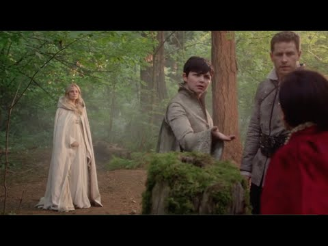 OUAT - 5x05 'Did you learn those big words at shepherd school?' [Emma, Snow, David & Regina]