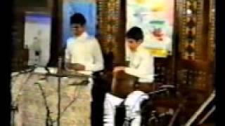 Alireza Mortazavi & Mohammadreza Mortazavi   as children   santur & tombak