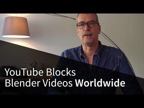 YouTube Blocks Blender Videos Worldwide