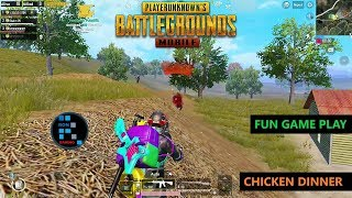 [Hindi] PUBG MOBILE | AMAZING SQUAD MATCH WITH BAHUBALI & CHICKEN DINNER
