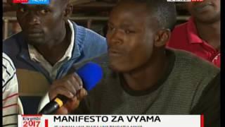 Kivumbi 2017: Masuala muhimu kwenye manifesto za vyama kwa Wakenya